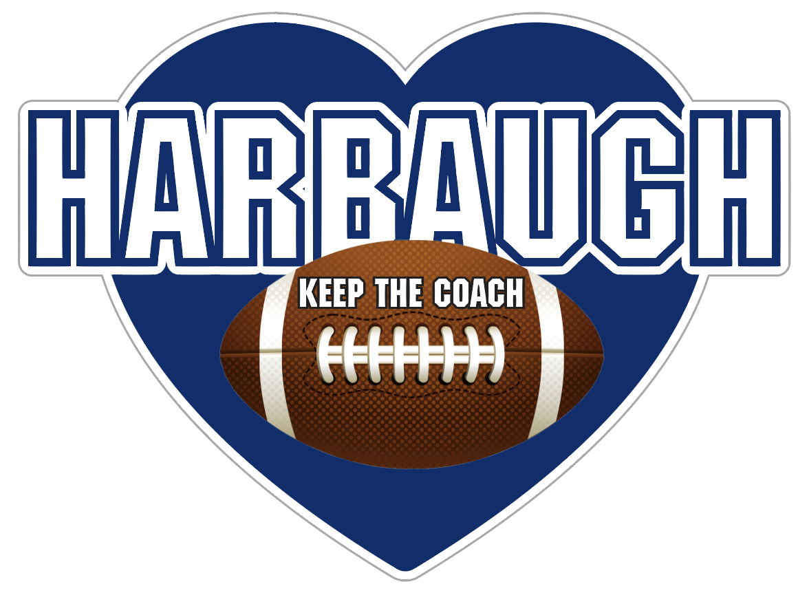 Keep the Coach Harbaugh Heart - Penn State Colors